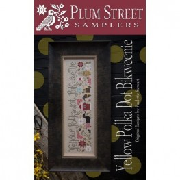 Схема Yellow Polka Dot Bikweenie Plum Street Samplers