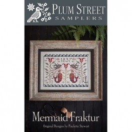Схема Mermaid Fraktur Plum Street Samplers