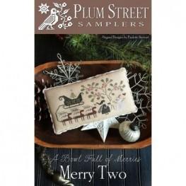 Схема Merry Two Plum Street Samplers