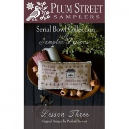 Схема Sampler Lesson Three Plum Street Samplers