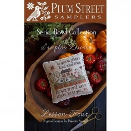 Схема Sampler Lesson Four Plum Street Samplers