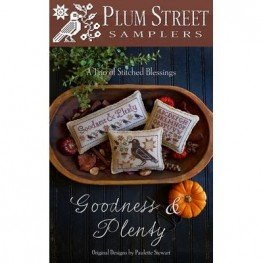Схема Goodness & Plenty Plum Street Samplers