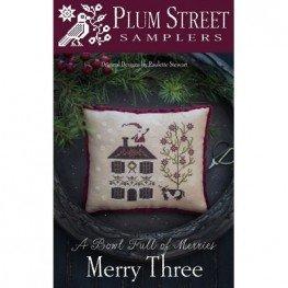 Схема Merry Three Plum Street Samplers