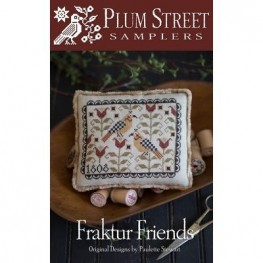 Схема Fraktur Friends Plum Street Samplers
