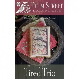 Схема Tired Trio Plum Street Samplers