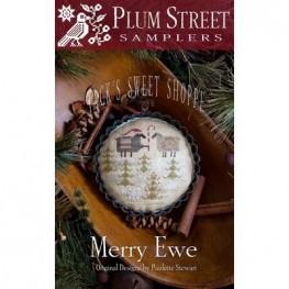 Схема Merry Ewe Plum Street Samplers