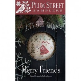 Схема Merry Friends Plum Street Samplers