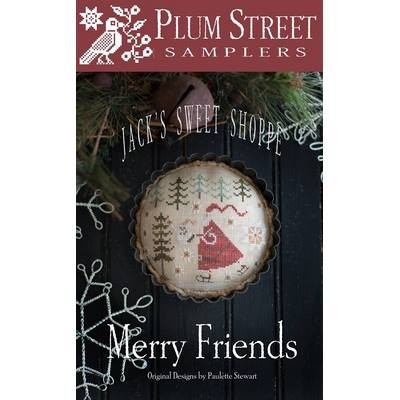 Схема Merry Friends Plum Street Samplers