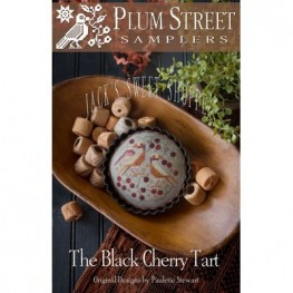 Схема The Black Cherry Tart Plum Street Samplers