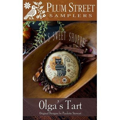 Схема Olga's Tart Plum Street Samplers