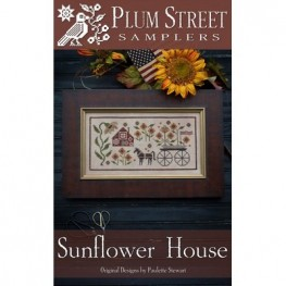 Схема Sunflower House Plum Street Samplers