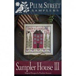 Схема Sampler House III Plum Street Samplers