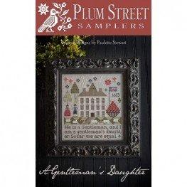 Схема A Gentleman's Daughter Plum Street Samplers