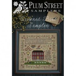 Схема Crowned Bird Sampler Plum Street Samplers