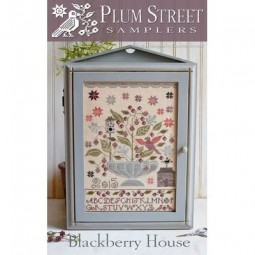 Схема Blackberry House Plum Street Samplers