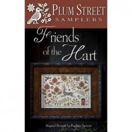 Схема Friends of the Hart Plum Street Samplers