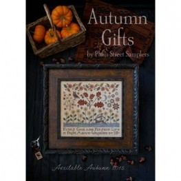 Схема Autumn Gifts Plum Street Samplers