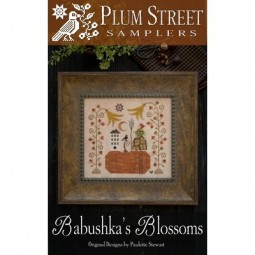 Схема Babushka's Blossoms Plum Street Samplers