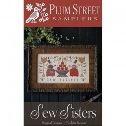 Схема Sew Sisters Plum Street Samplers