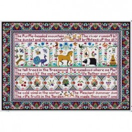 Схема All Things Bright & Beautiful II Long Dog Samplers
