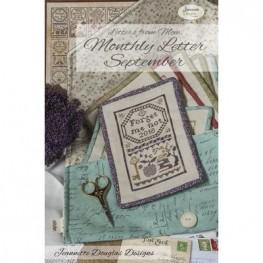 Схема Letters From Mom September Jeannette Douglas