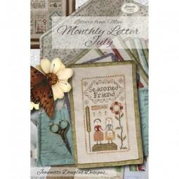 Схема Letters From Mom July Jeannette Douglas