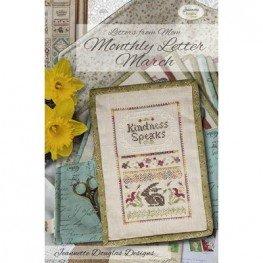 Схема Letters From Mom March Jeannette Douglas