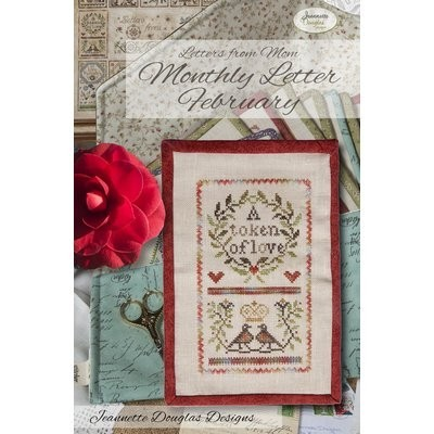 Схема Letters From Mom February Jeannette Douglas