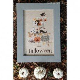 Схема Celebrate Halloween Madame Chantilly