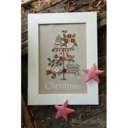 Схема Celebrate Christmas Madame Chantilly