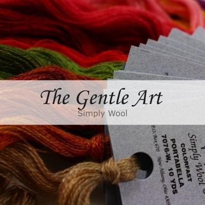 Нити шерстяные Simply Wool The Gentle Art