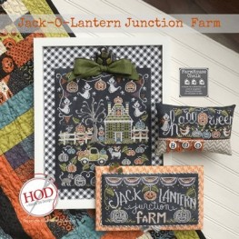 Схема Jack-o-Lantern Junction Farm Hands on Design