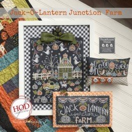 Схема Jack-o-Lantern Junction Farm Hands on Design