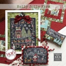 Схема Holly Jolly Farm Hands on Design