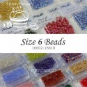 Бисер Mill Hill Glass Beads Size 6 (16002-16618)