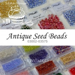Бисер Mill Hill Antique Glass Seed Beads (03002-03575)