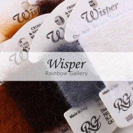 Нити Wisper Rainbow Gallery