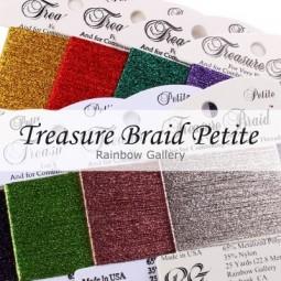 Нити Treasure Braid Petite Rainbow Gallery