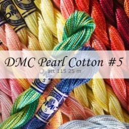 Нити перле DMC Pearl Cotton #5 арт. 115