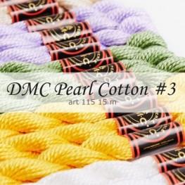 Нитки перле DMC Pearl Cotton 3 art 115