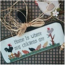 Схема Home is Where My Chickens Are Twin Peak Primitives