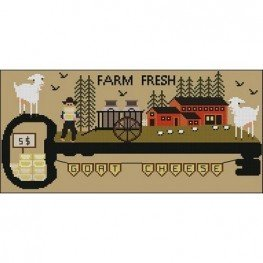 Farm Fresh Goat Chees Twin Peak Primitives