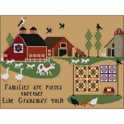 Families Are Like Grandma Quilts Twin Peak Primitives