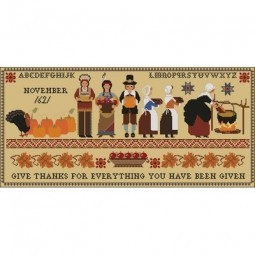 Thanksgiving 1621 Sampler Twin Peak Primitives