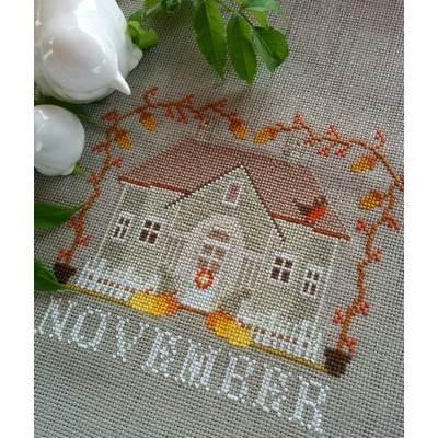 November Cottage I'll Be Home Series Twin Peak Primitives