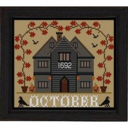 October Cottage I'll Be Home Series Twin Peak Primitives