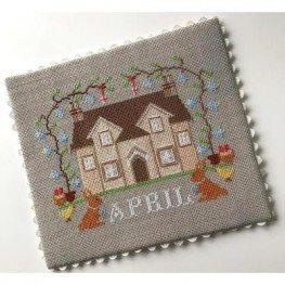 April Cottage I'll Be Home Series Twin Peak Primitives