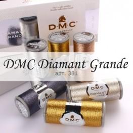 Металлизированные нити DMC Diamant Grande 381