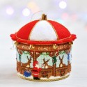 Kreinik Micro-ice Chenille - Cross Stitch Christmas Ornament Живущая на радуге (Living On The Rainbow)