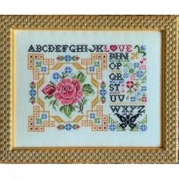 Схема Post Card of Love Rosewood Manor S-1240